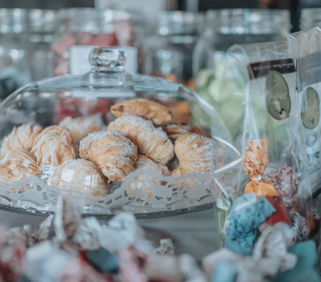 Dolci sötsaker på Oliveriet