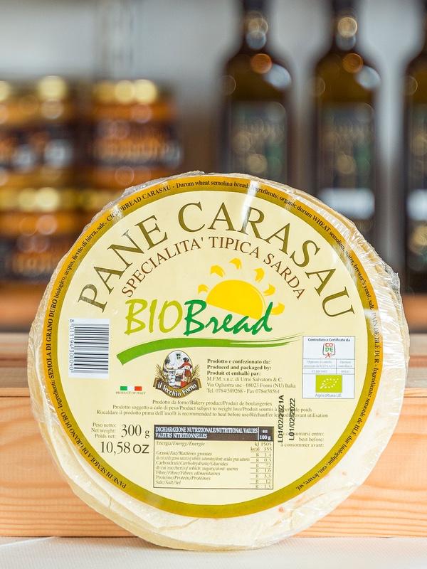 Pane Carasau, fåraherdens tunnbröd från Sardinien