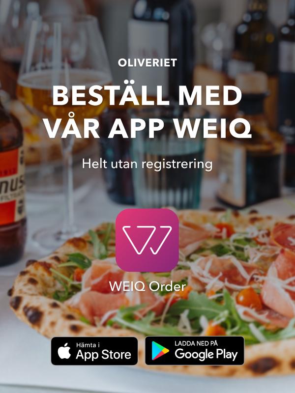 Beställ hämtmat från Oliveriet med appen Weiq