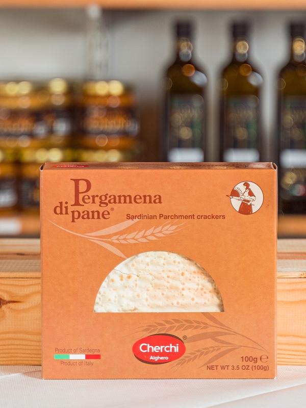 Pergamena di pane, tunnbröd från Sardinien