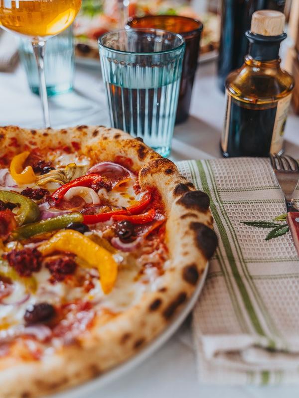 Pizza Picasso på Oliveriet i Kristinehamn